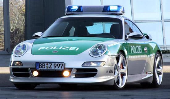 2005 Techart Carrera Police Car Porsche