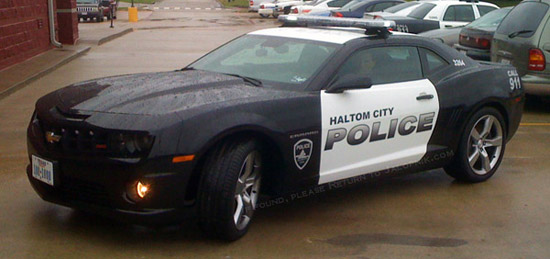 2010 chevy camaro police