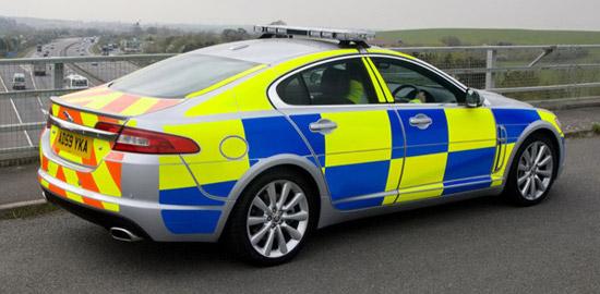 Jaguar XF Diesel S police