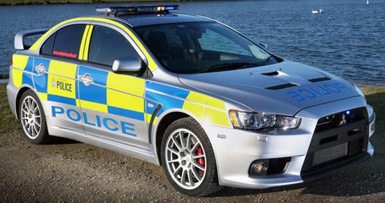Mitsubishi Lancer Evo X Police Car