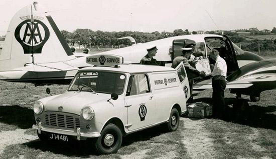 The AA 1960s Van