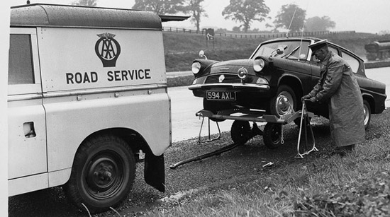 The AA Land Rover