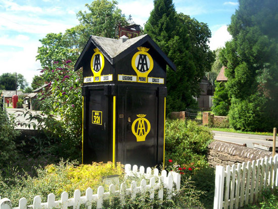 aa phone call boxes