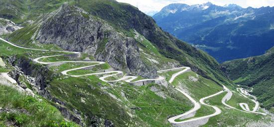 aint gothard pass switzerland