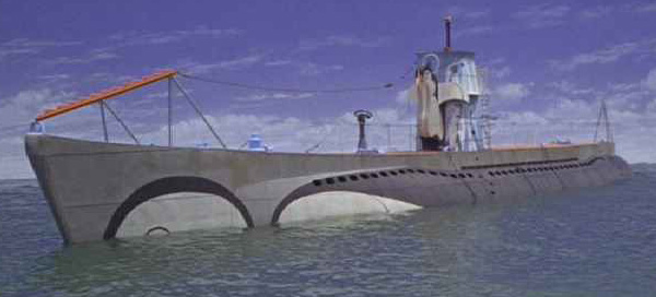 pengions submarine